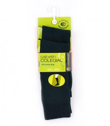 Calcetines hasta la rodilla verdes (dos pares)