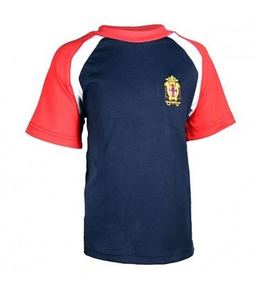 Camiseta Primaria y Secundaria Manga Corta Virgen del Remedio